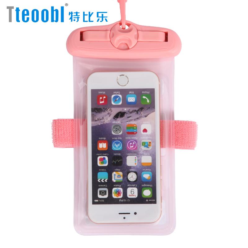 手机防水袋潜水套触屏游泳温泉通用水下拍照手机壳苹果华为防尘包