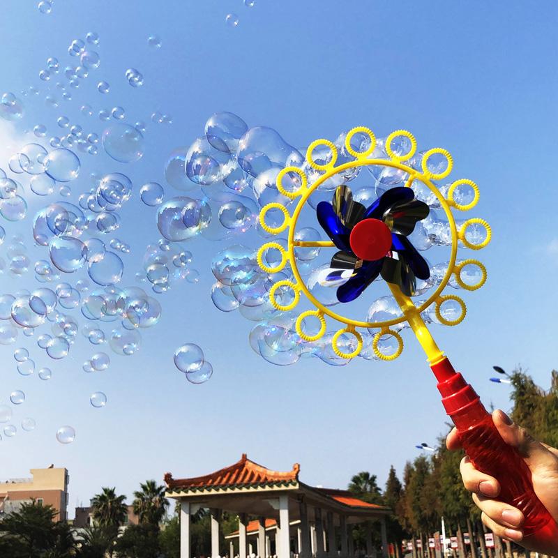 批发风车泡泡器儿童玩具泡泡机水