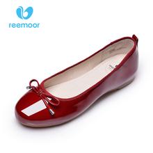 REEMOOR осень нового конуса тома краткое обувь комфортно портативный квартира каблуках RM-2512A6