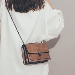上新质感小包包女2020新款潮韩版百搭斜挎包ins风简约复古小方包