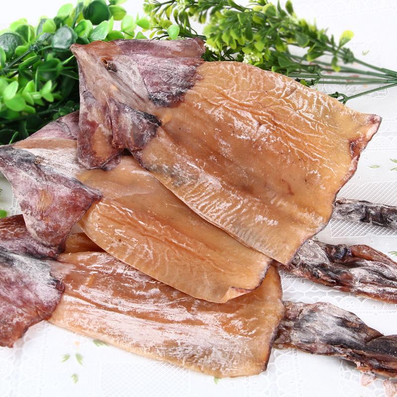 海鲜水产干鱿鱼 大鱿鱼干500g 烧烤鱿鱼板 鱿鱼片 鱿鱼头
