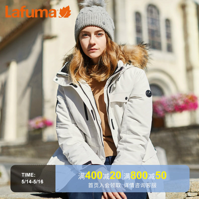 LAFUMA Le Feiye outdoor Canadian wind goose down men and women couple Parker tooling down jacket LFJU8DH66