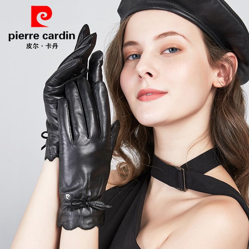 Женские перчатки с мехом Артикул 41025418186