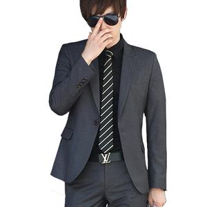 领【3元券】购买西服套装男士外套修身商务休闲面试