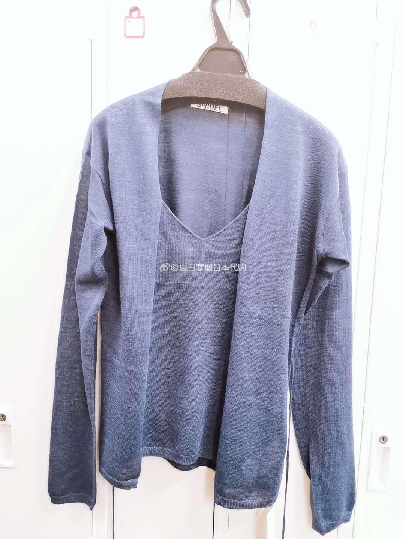 5折 夏日寒烟日本代购 SNIDEL 6月 针织衫SWNT201059