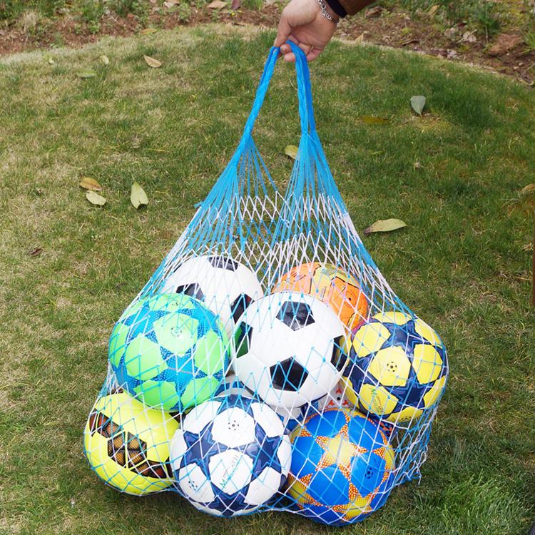 Бесплатная доставка отверстия строка сумка большой потенциал мяч сетчатый мешочек баскетбол футбол волейбол строка сумка детский сад семья хранение строка сумка