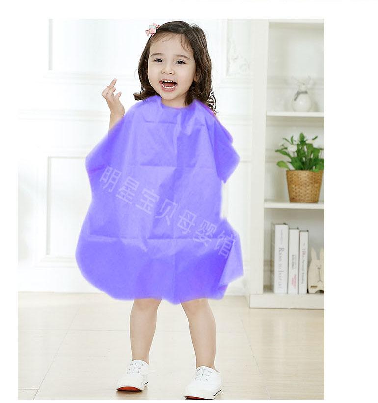 宝宝幼儿园角色游戏剪发挡碎发围裙理发店女生小孩儿童家用围布