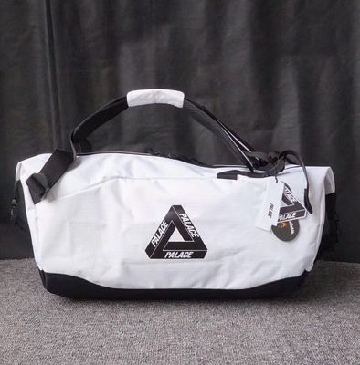 新品palace autumn CLIPPER BAG WHITE桶包手提包旅行斜挎包男女