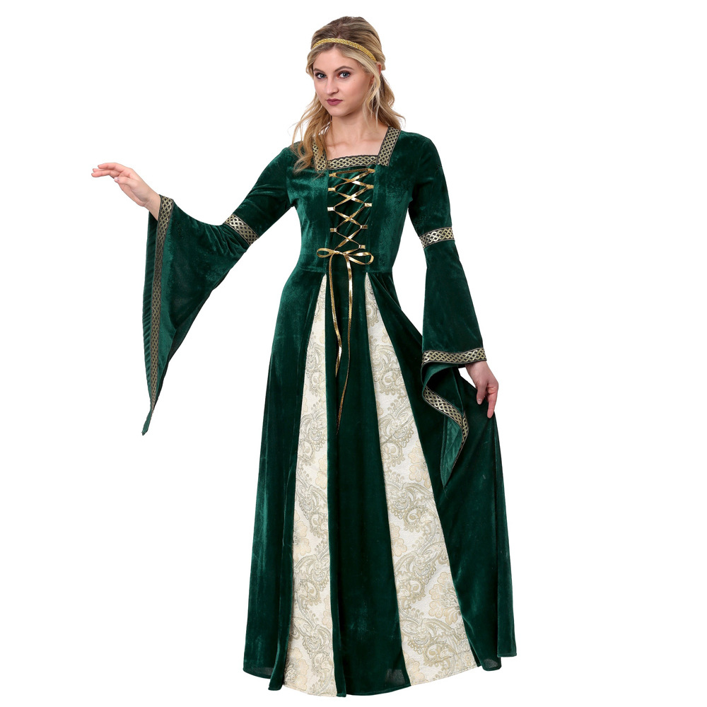 Greek palace Princess Queen Costume retro European style drama stage show dress