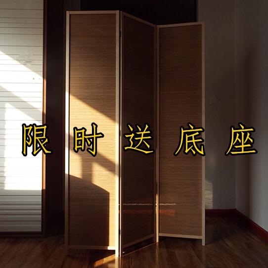 屏风隔断折屏日式屏风间隔中式现代屏风客厅玄关卧室简易折叠屏风