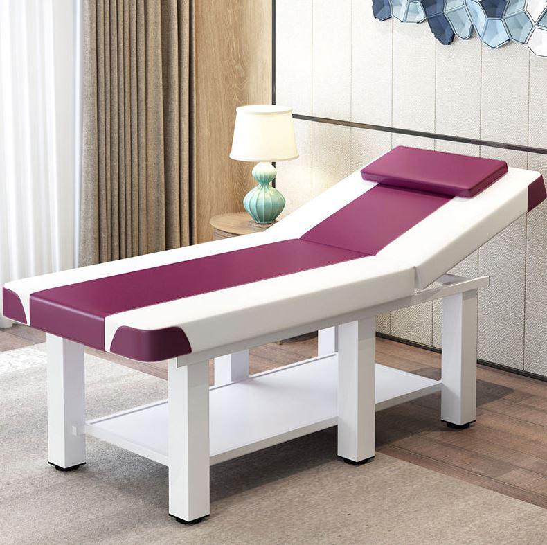 养生馆可折叠美容床艾灸美体加宽多功能按摩床中医美睫足疗纹绣