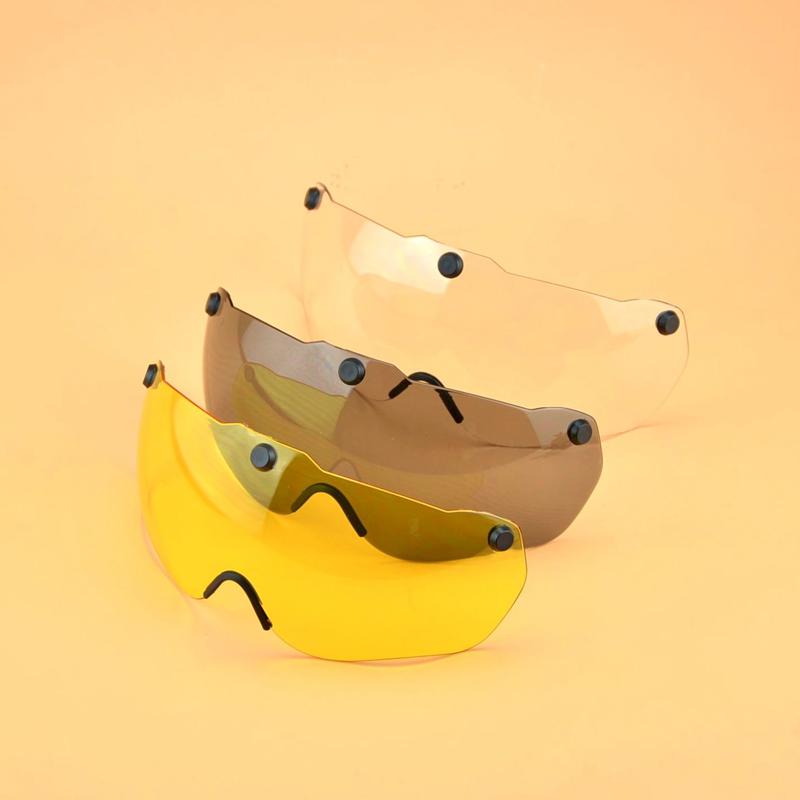 GUB K80plus头盔眼镜 夜视防炫目墨镜 吸磁太阳镜 白天过滤镜片