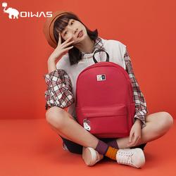 爱华仕史努比联名设计新款背包女休闲潮流双肩包简约时尚学生书包