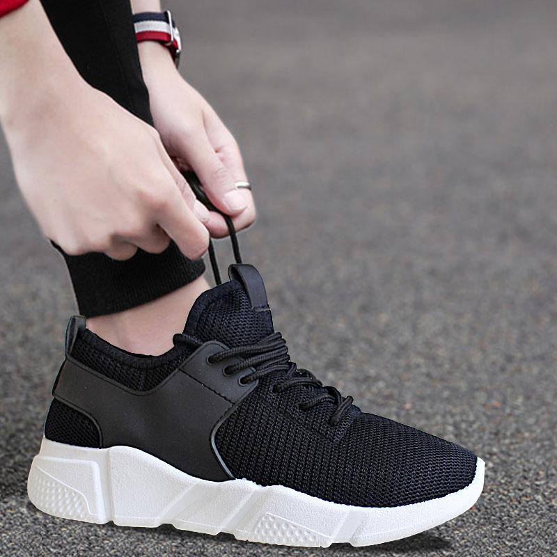 夏季男士网面布鞋运动透气男鞋帆布秋季休闲皮鞋跑步潮鞋韩版潮流