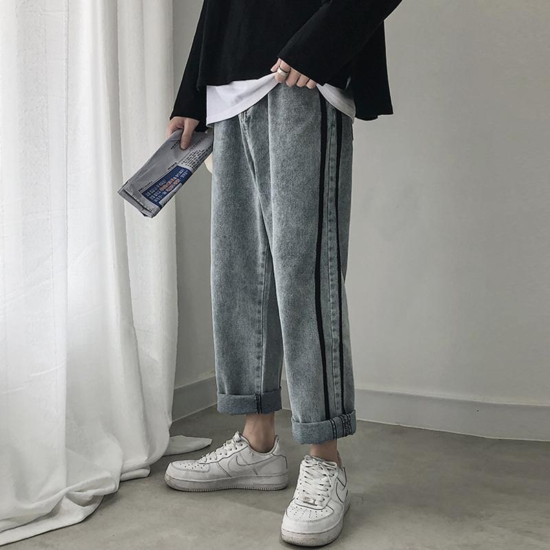 热销1607件有赠品秋季潮牌2019新款男士潮流牛仔裤