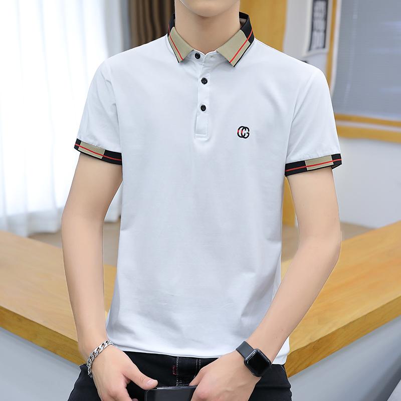 夏季男装时尚男士短袖POLO衫韩版修身短袖T恤男上衣PL6319-P28