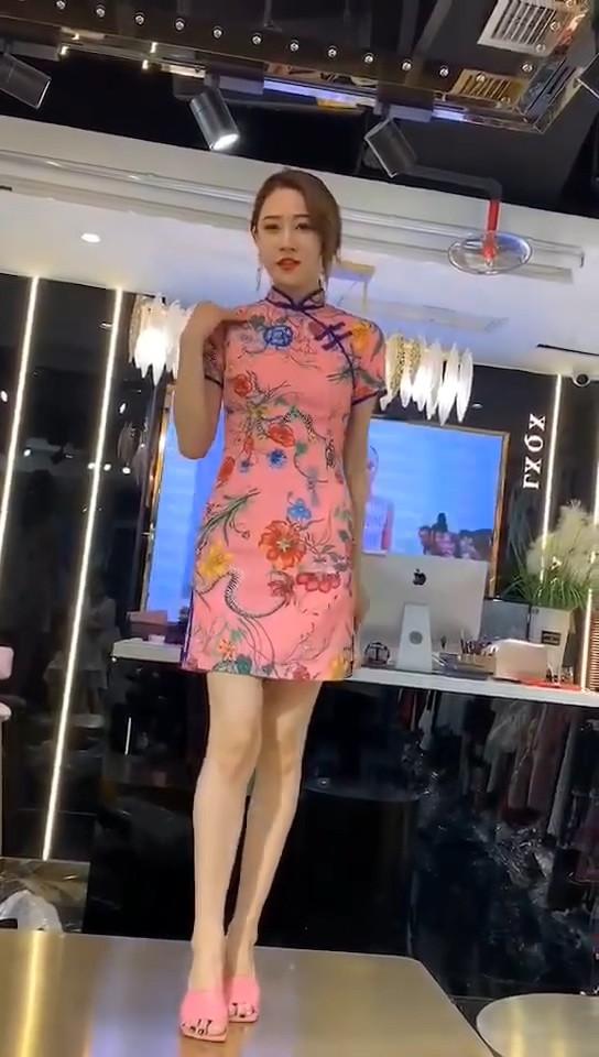 2020夏季新款职业女装欧韩站连衣裙