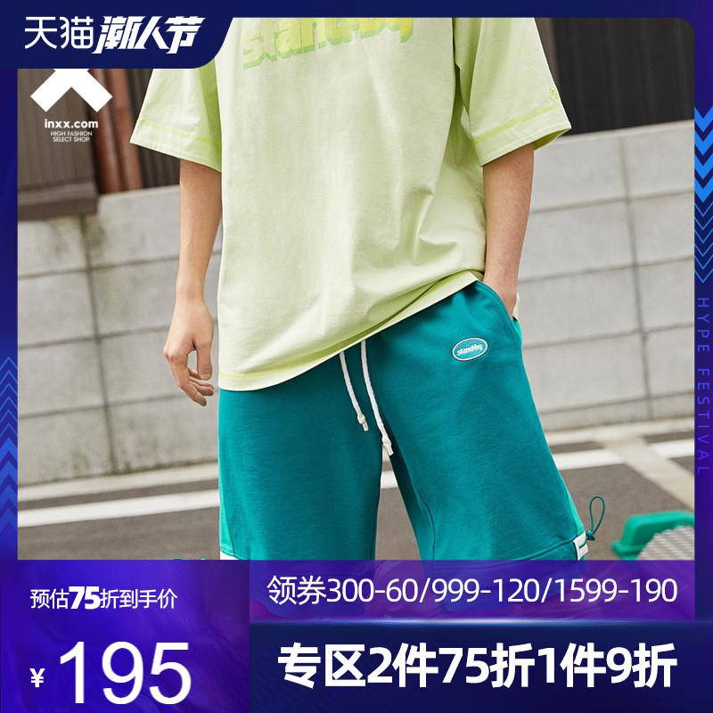 【INXX】Stand by 潮流宽松短裤男夏季新款运动松紧腰休闲裤情侣