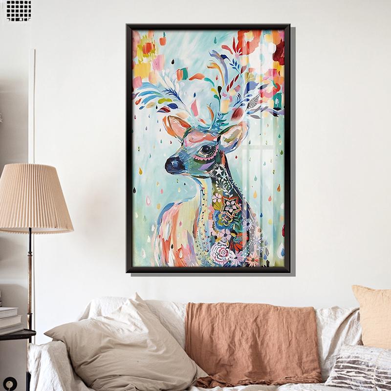 卧室贴纸背景墙上墙贴画客厅相框