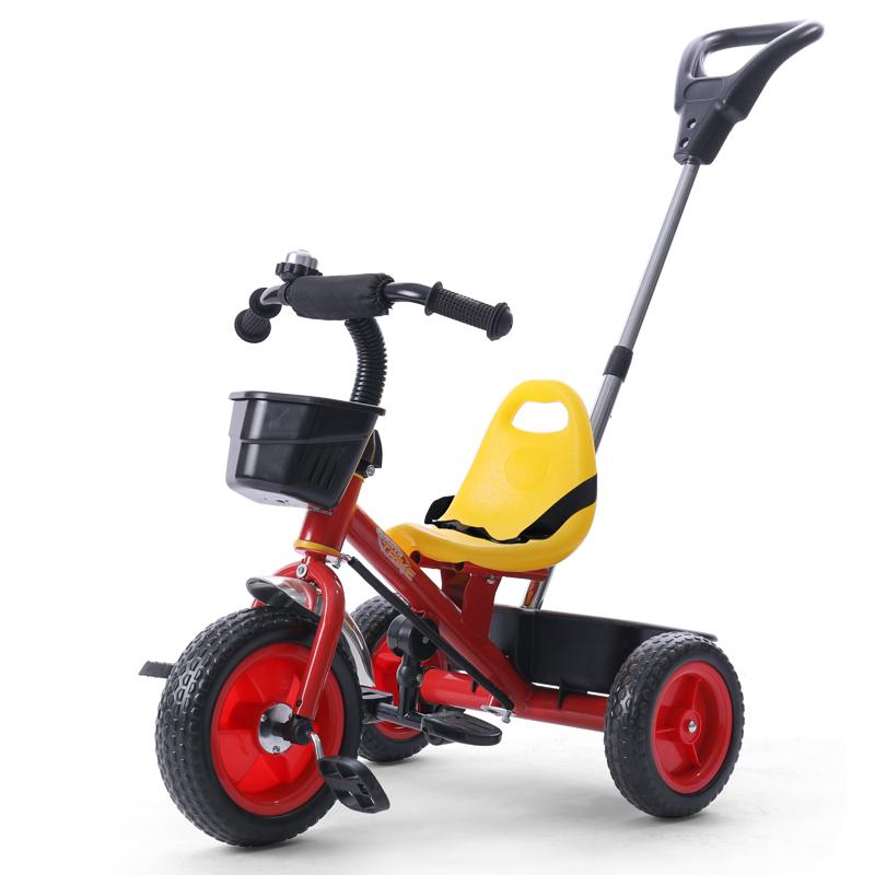 升級版 兒童 三輪車腳踏車 寶寶自行車嬰兒手推車童車 T013S