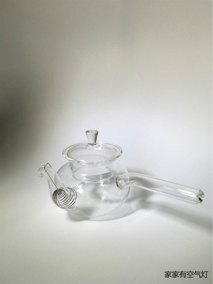 Высокая Чайный набор воздуха свет для Прочный стеклянный горшок утепленный сопротивление высокая Фильтр теплого пузырькового чая бесплатная доставка по китаю (небольшой)
