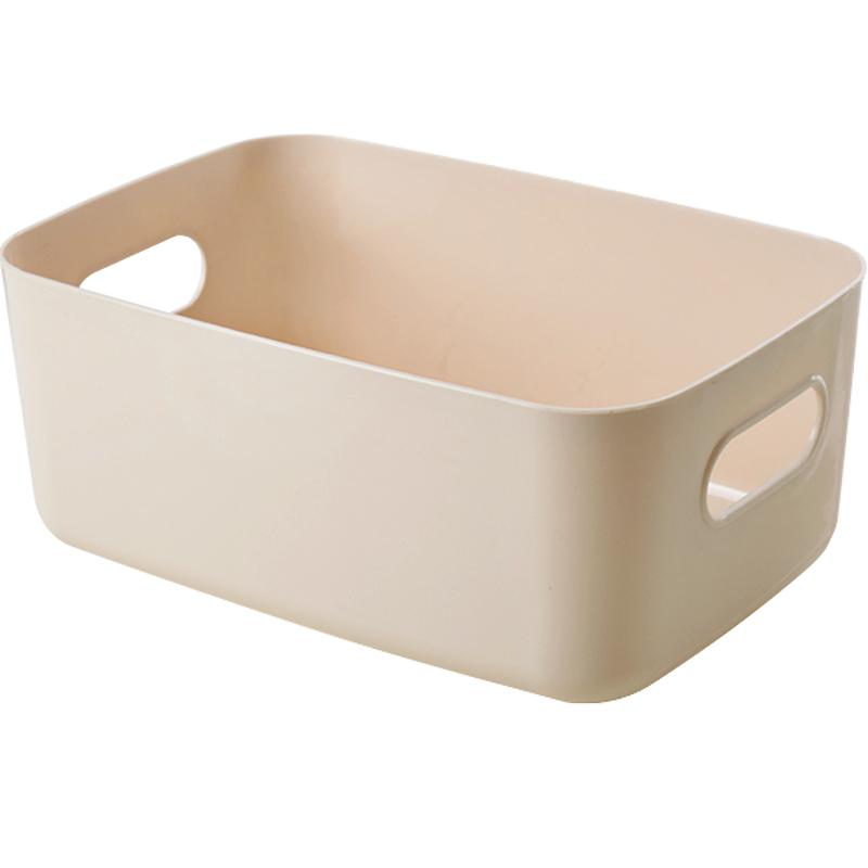 杂物收纳盒桌面塑料化妆品置物盒储物盒卫生间厨房收纳筐整理盒子