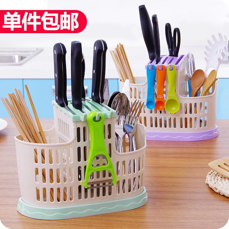 Творческий кухня палочки для еды клетка палочки для еды корзины домой посуда дренажный палочки трубки пластик палочки для еды клетка хранение палочки для еды полка башенка