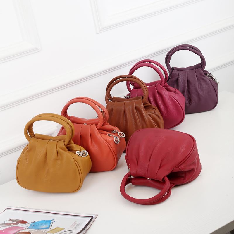 Mini Bag 2019 new fashion female fashion middle aged female bag mother buy vegetable bag lady handbag small bag mail