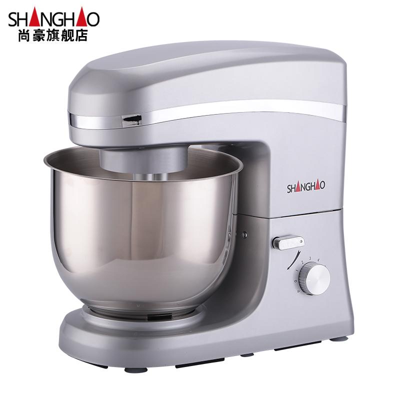 尚豪鲜奶机商用7升厨师机打蛋搅拌机奶油打发机奶盖机忌廉奶油机