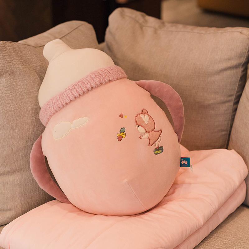 10-17新券加厚抱枕被子两用车用车载办公室靠垫沙发汽车午睡枕头床头小靠枕