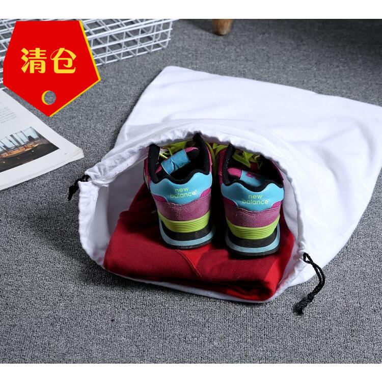 美国品牌纯棉棉布包包防尘袋鞋袋衣物收纳袋洗衣袋手机袋数码收