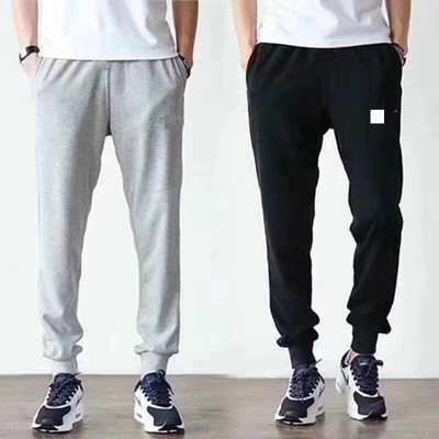 Custom cotton and cashmere pants for men and women the same pants 80-200kg lovers only black