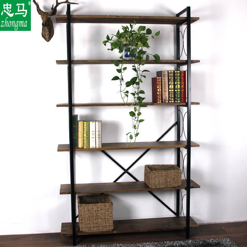 zhongma /忠马loft美式复古书架11月04日最新优惠
