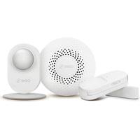 360智能家庭安防套装D807无线智能家居防盗系统人体传感器网关门窗感应器感应灯床头等手机远程遥控