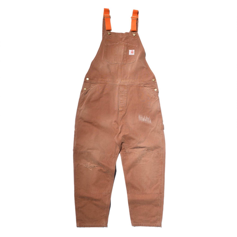 RT 新款MADNESS x CAR 五周年联名限定 连体工装水洗做旧背带裤