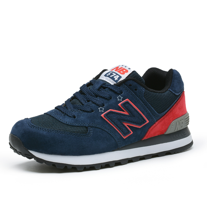 Authentic new Bailun Sports Shoes Co., Ltd. NB 574 official Raytheon mens and womens running shoes mens and womens shoes