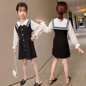 女童连衣裙秋装2020新款潮童装小女孩休闲夏季短裙中大童女洋气裙