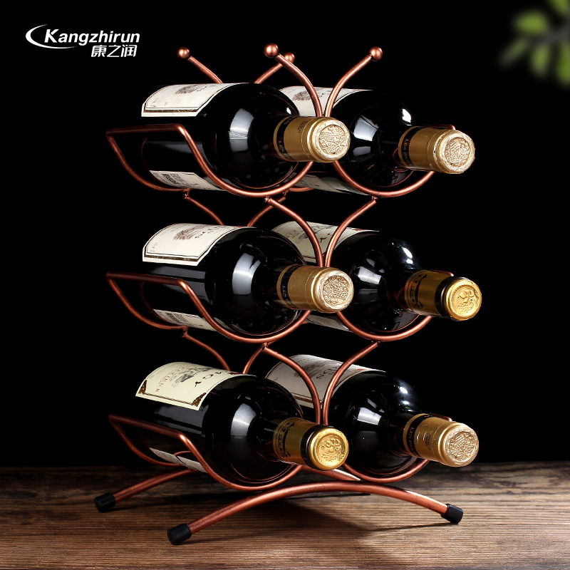 创意欧式摆件现代简约红酒架