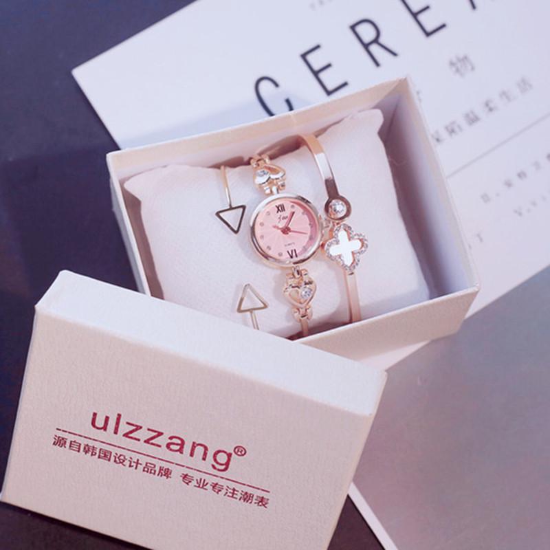 手表女韩版简约潮流ulzzang学生生日礼物送女生手链式小清新大气