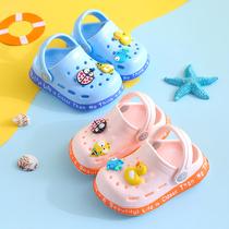 3岁学步婴幼儿防滑洞洞鞋夏季新款小童2包头宝宝凉鞋男女童软底1