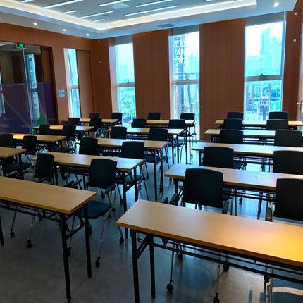 辅导班课桌椅中小学生培训班折叠桌学校教室补习教育书法桌子长条