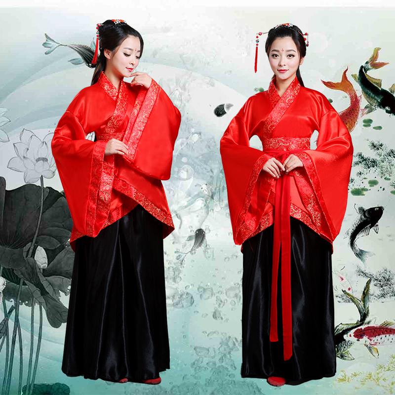 新款古典舞蹈古装汉服 女广袖流仙裙演出仙女服装中国舞凉凉表演