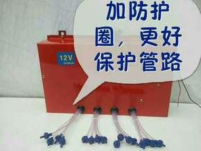 小麦玉米收割机链条自动润滑链条注油器自动加油油路润滑器12V24V