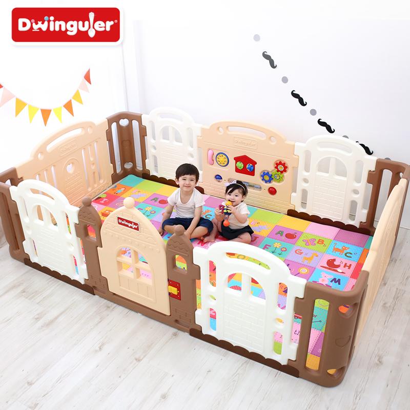 Dwinguler 韩国原装进口 环保康乐围栏 城堡围栏 宝宝游戏防护栏