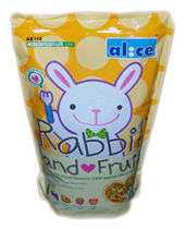 Alice dietary fiber fruit into rabbit grain 2.5KG pet rabbit feed main grain AE112