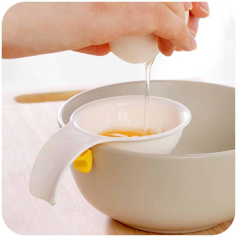 Силиконовая карточка с застежкой Держите край чаши Яйцо белый сепаратор Кубический яичный сплиттер Shell Shell
