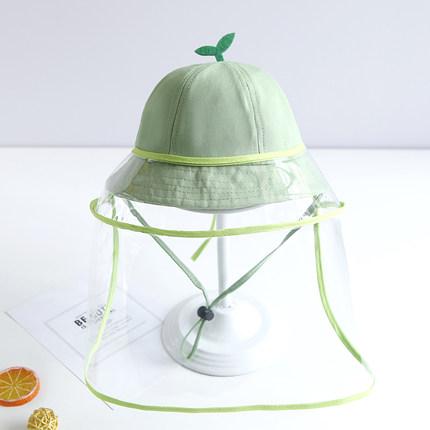 婴幼儿防飞沫豆芽夏季防晒帽防护帽