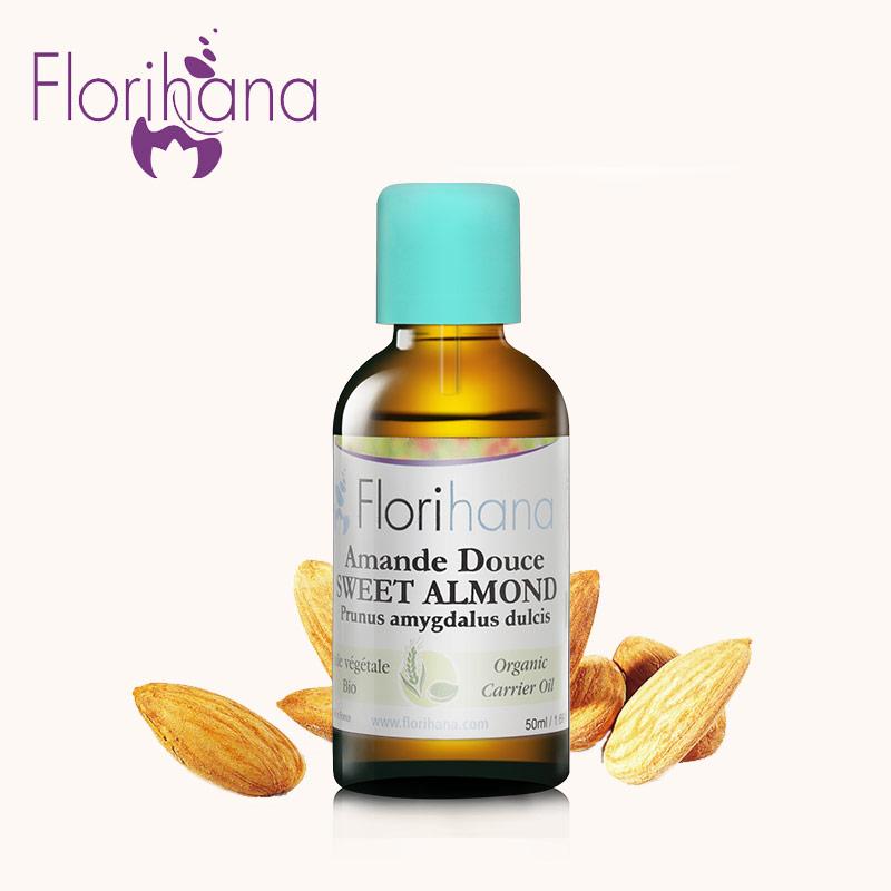 Florihana сладкий миндаль масло упоминание тянуть укрепляющий губа увлажняющий кожа кондиционер фонд очистка масло царапина лихорадка массаж