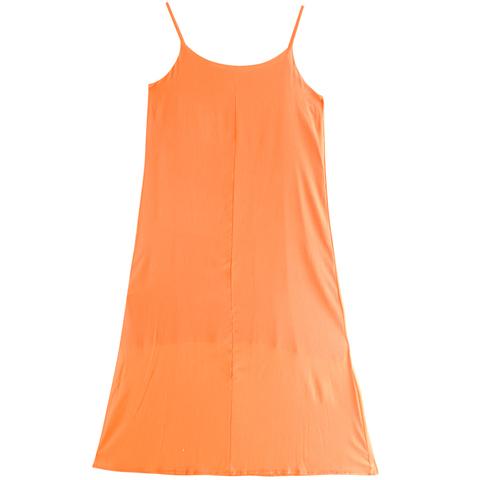 超长款内搭桑蚕丝吊带无袖连衣裙仙女2020夏季新款外穿真丝背心裙