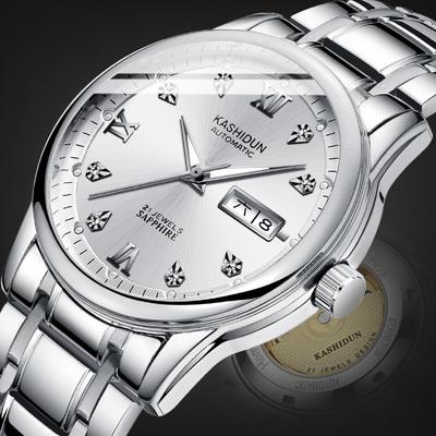男士手表 机械表钢带性价比高评测怎么样